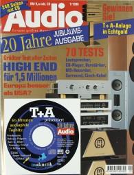Audio 1/1998 Zeitschrift