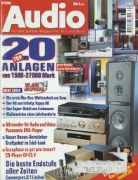Audio 4/1998 Zeitschrift