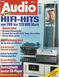 Audio 7/1998 Zeitschrift