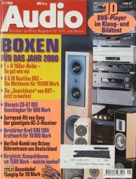 Audio 11/1998 Zeitschrift