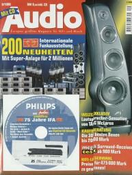 Audio 9/1999 Zeitschrift