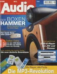 Audio 8/2000 Zeitschrift