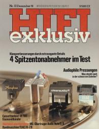 Hifi Exklusiv 12/1981 Zeitschrift