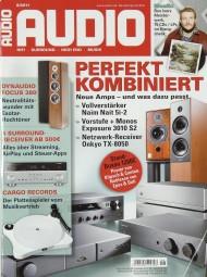 Audio 8/2011 Zeitschrift