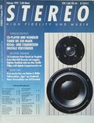 Stereo 2/1991 Zeitschrift