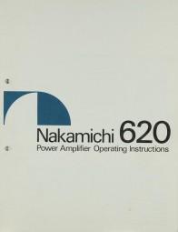 Nakamichi 620 Bedienungsanleitung