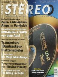 Stereo 11/2005 Zeitschrift