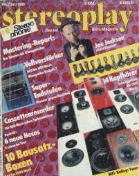 Stereoplay 7/1989 Zeitschrift
