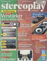 Stereoplay 2/1995 Zeitschrift