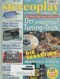 Stereoplay 3/1996 Zeitschrift
