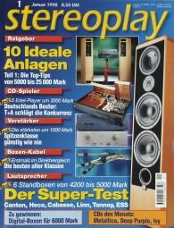 Stereoplay 1/1998 Zeitschrift