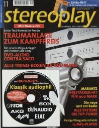 Stereoplay 11/1999 Zeitschrift