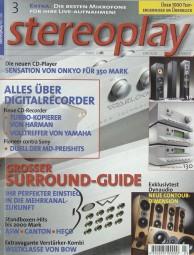 Stereoplay 3/2000 Zeitschrift