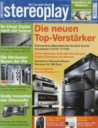 Stereoplay 9/2008 Zeitschrift