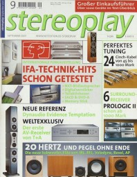 Stereoplay 9/2001 Zeitschrift