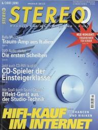 Stereo 6/2001 Zeitschrift
