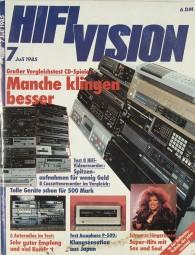 Hifi Vision 7/1985 Zeitschrift
