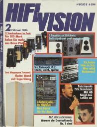 Hifi Vision 2/1986 Zeitschrift