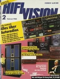 Hifi Vision 2/1988 Zeitschrift
