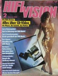 Hifi Vision 2/1190 Zeitschrift