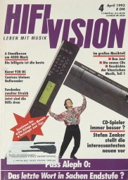 Hifi Vision 4/1993 Zeitschrift