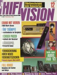 Hifi Vision 12/1993 Zeitschrift