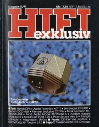 Hifi Exklusiv III / 91 Zeitschrift