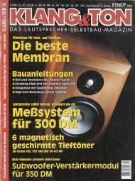Klang & Ton 5/98 Zeitschrift