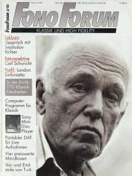 Fono Forum 2/1993 Zeitschrift