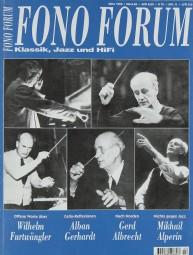 Fono Forum 3/1999 Zeitschrift