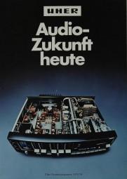 Uher Audio-Zukunft Heute 1973/74 Prospekt / Katalog