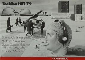 Toshiba HiFi 79 Prospekt / Katalog
