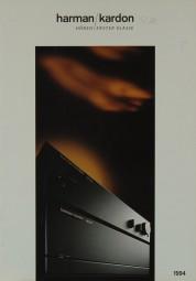 Harman / Kardon 1994 Prospekt / Katalog