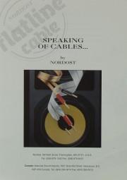 Nordost Speaking of Cables Prospekt / Katalog