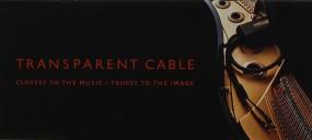 Transparent Transparent Cable Prospekt / Katalog