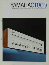 Yamaha CT 800 Prospekt / Katalog