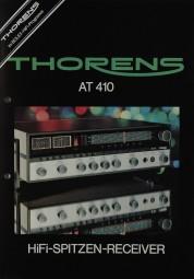 Thorens AT 410 Prospekt / Katalog