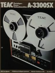 Teac A-3300 SX Prospekt / Katalog