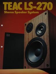 Teac LS-270 Prospekt / Katalog