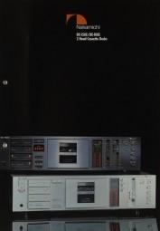 Nakamichi BX-150 E / BX-100 E Prospekt / Katalog