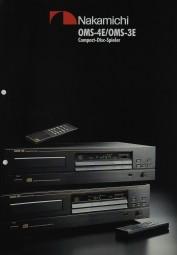 Nakamichi OMS-4 E / OMS-3 E Prospekt / Katalog