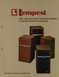 Tempest Lab Series Prospekt / Katalog