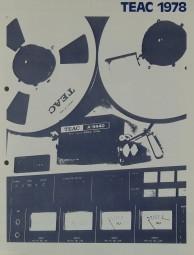 Teac 1978 Prospekt / Katalog