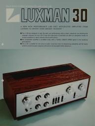 Luxman L-30 Prospekt / Katalog