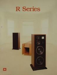 JBL R Series Prospekt / Katalog