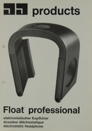 JJ Products Float Professional Prospekt / Katalog