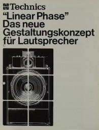 Technics Linear Phase Prospekt / Katalog