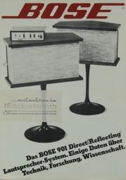Bose Bose 901 Prospekt / Katalog