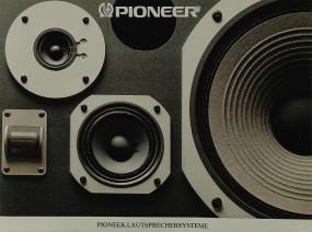 Pioneer Lautsprechersysteme Prospekt / Katalog