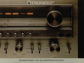 Pioneer Stereo- & Quadrophonie-Receiver Prospekt / Katalog